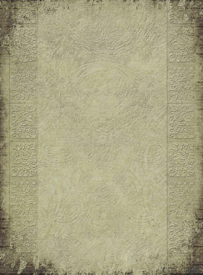 Fondo grabado antigüedad ligera de la columna imagen de archivo libre de regalías