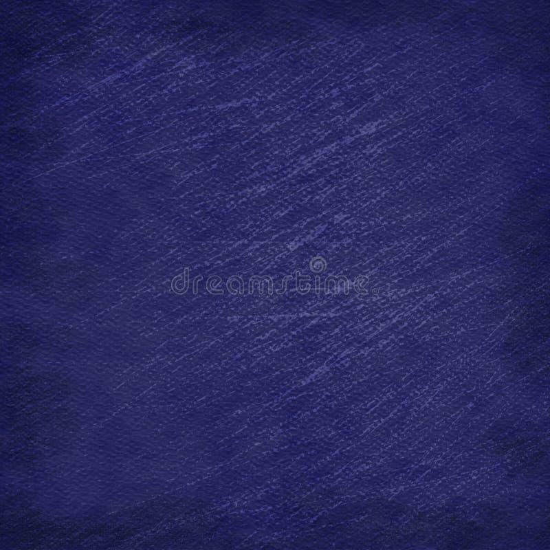 Fondo graffiato semplice blu scuro di lerciume di sguardo illustrazione vettoriale