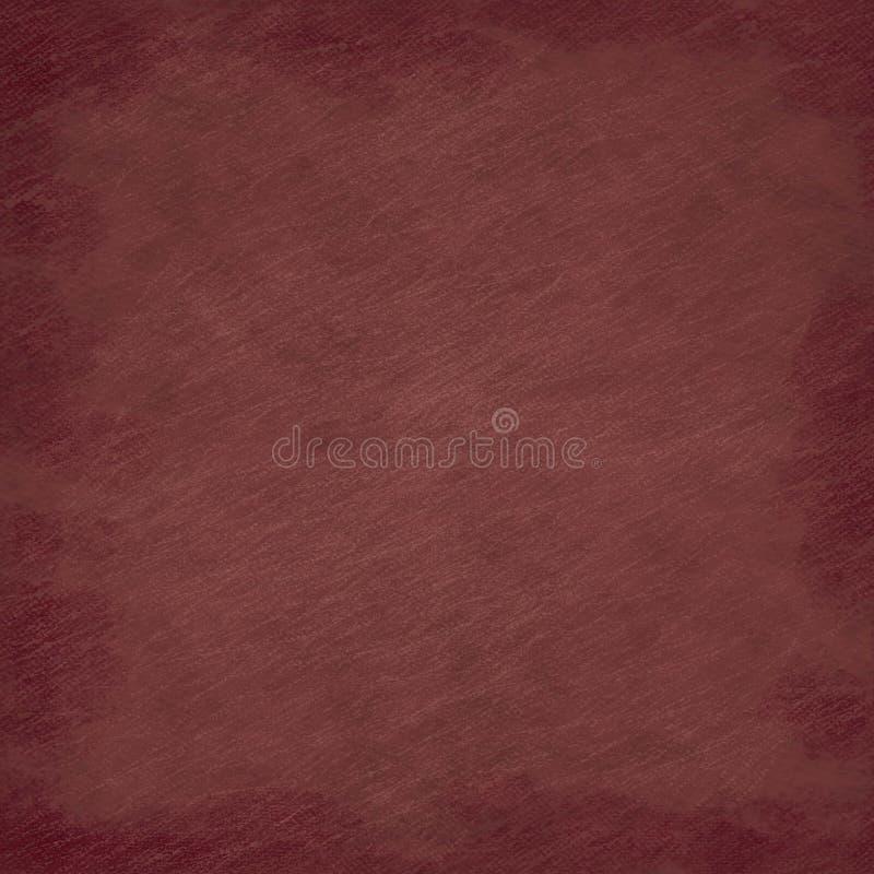 Fondo graffiato semplice rosso scuro di lerciume di sguardo illustrazione di stock