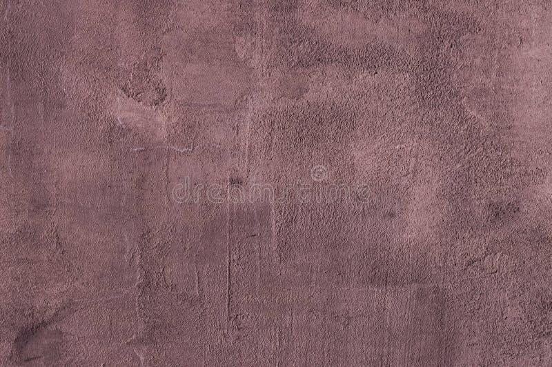 Fondo granulare porpora di struttura del gesso del cemento immagini stock