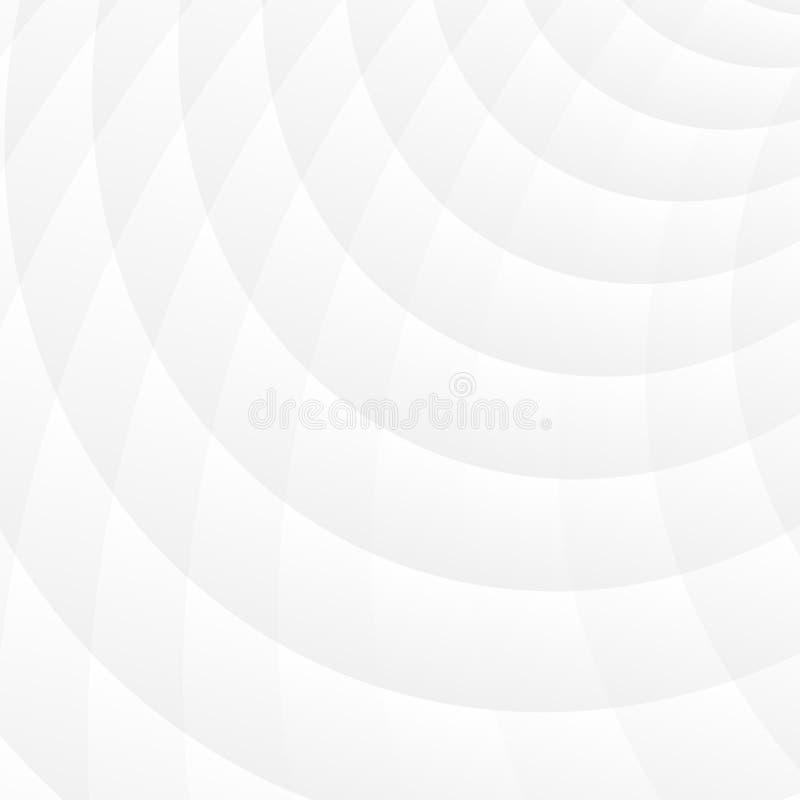 Fondo grigio astratto di prospettiva illustrazione di stock