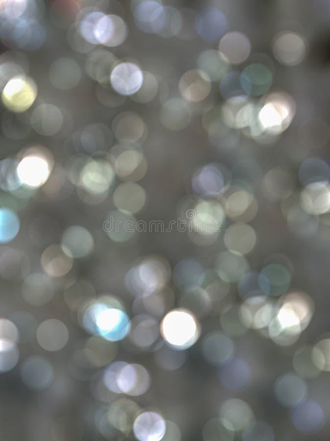 Fondo grigio del bokeh della sfuocatura fotografia stock libera da diritti