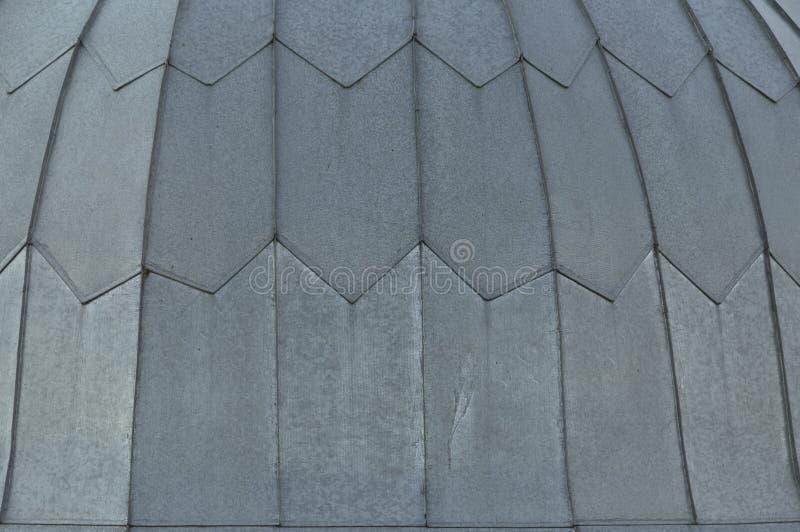 Fondo grigio del pavimento del tetto di mattonelle Modello di struttura del tetto del primo piano Materiali per costruire una cas fotografie stock
