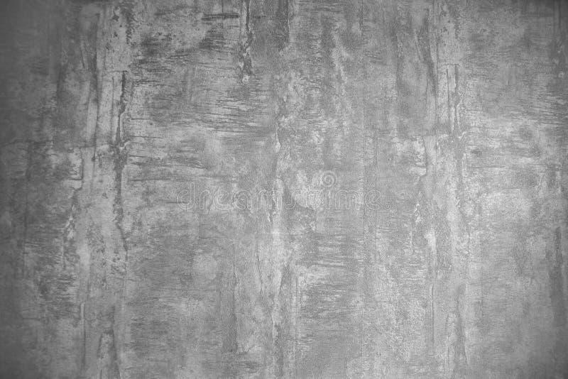 Fondo grigio di struttura della carta da parati di lerciume, interior design fotografia stock
