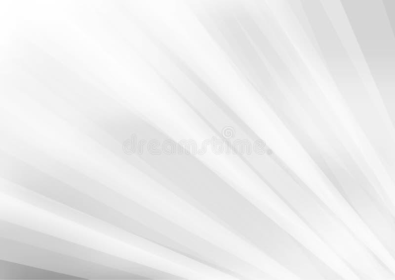Fondo grigio dinamico astratto illustrazione vettoriale