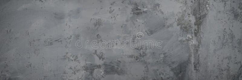 Fondo grigio neutrale Struttura di lerciume del muro di cemento fotografie stock libere da diritti