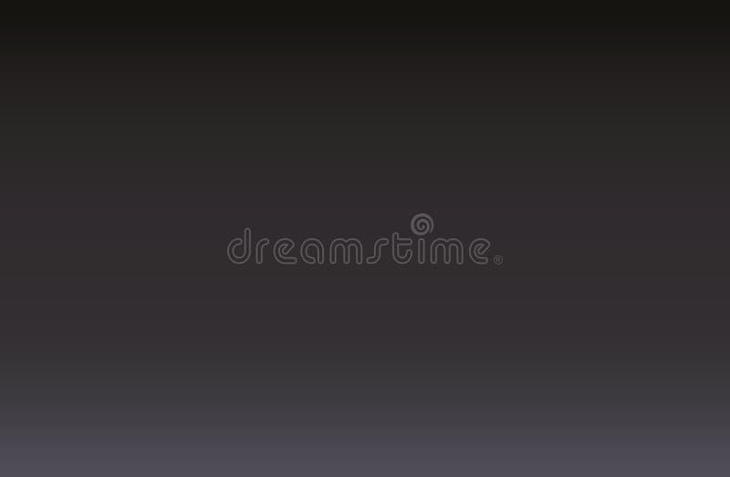 Fondo grigio scuro e nero della sfuocatura di lusso astratta di pendenza immagini stock