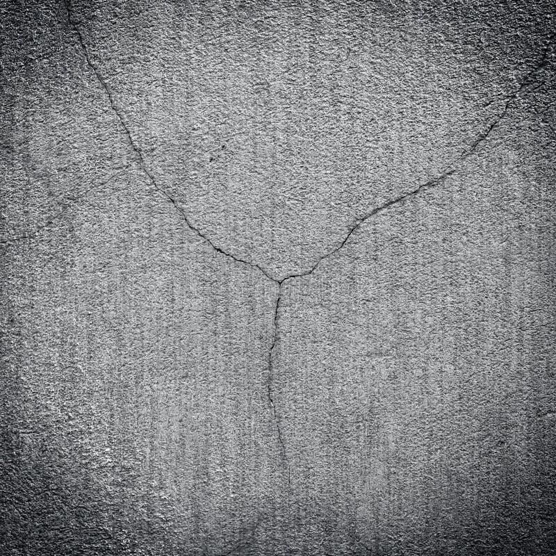 Fondo gris áspero de la pared del yeso foto de archivo libre de regalías