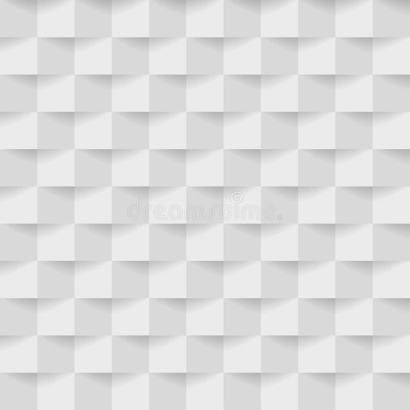 Fondo gris abstracto de los cuadrados ilustración del vector