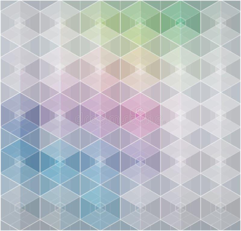 Fondo gris abstracto del estilo de la tecnología Contexto gris elegante para el sitio web, las presentaciones de la tecnología, p stock de ilustración