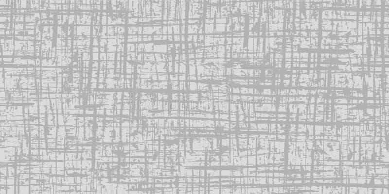 Fondo gris abstracto Textura inconsútil gris del Grunge Modelo inconsútil ilustración del vector