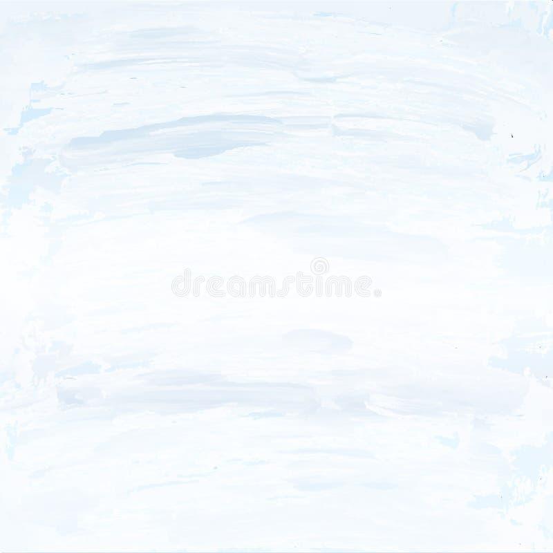 Fondo gris blanco blanqueado de la pared stock de ilustración