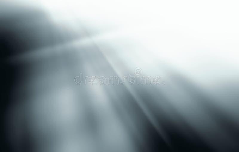 Fondo gris blanco del extracto de la pendiente libre illustration