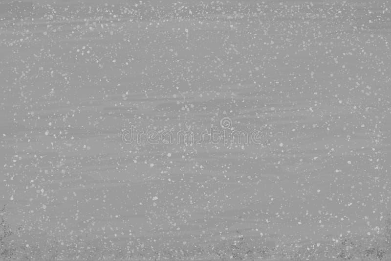Fondo gris con el espray blanco imagen de archivo
