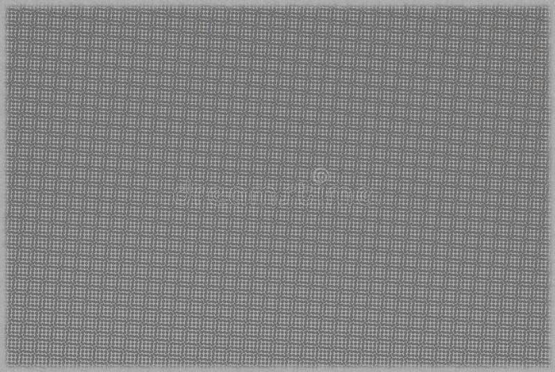 Fondo gris con enrejado y la frontera texturizados fotos de archivo libres de regalías