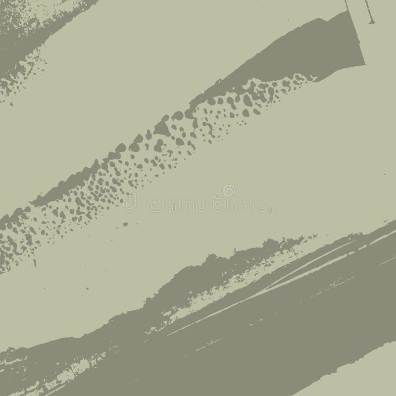Fondo gris de Grunge ilustración del vector