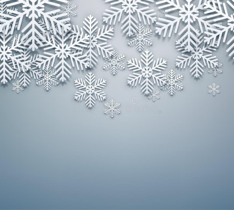 Fondo gris de la Navidad. libre illustration