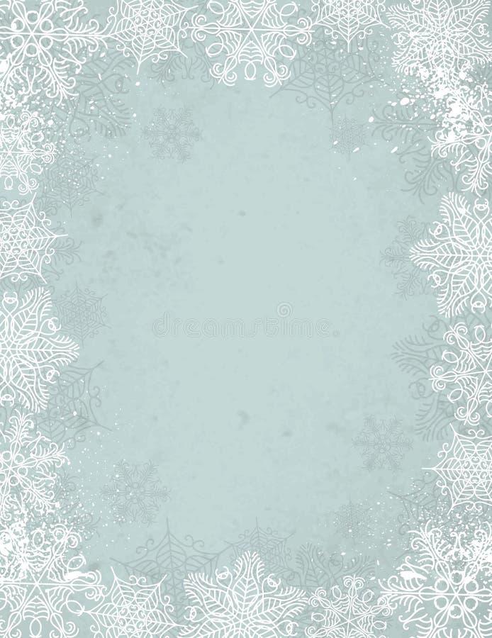 Fondo gris de la Navidad, vector stock de ilustración