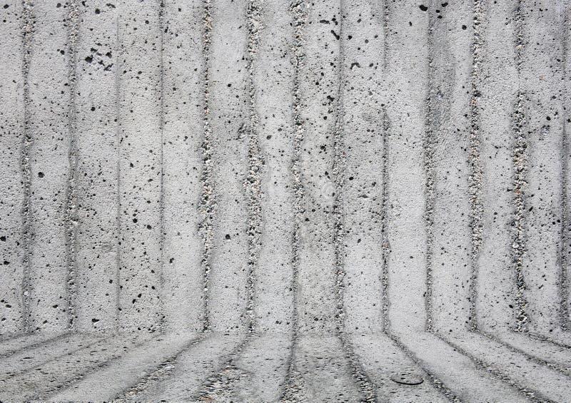 Fondo gris de la pared con el suelo imagenes de archivo