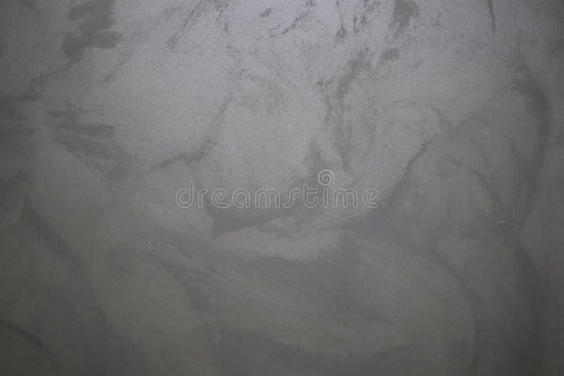 Fondo gris de la pared Fondo sólido de plata de la chapa Textura dise?ada del grunge Fondo interior de la pared y del piso fotografía de archivo libre de regalías