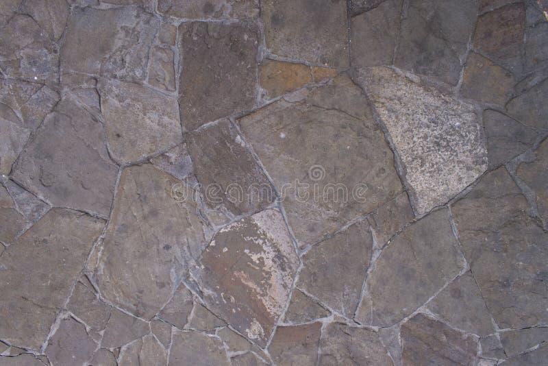Fondo gris de pared de piedra imágenes de archivo libres de regalías