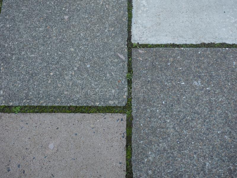 Fondo gris de pavimento concreto fotografía de archivo libre de regalías