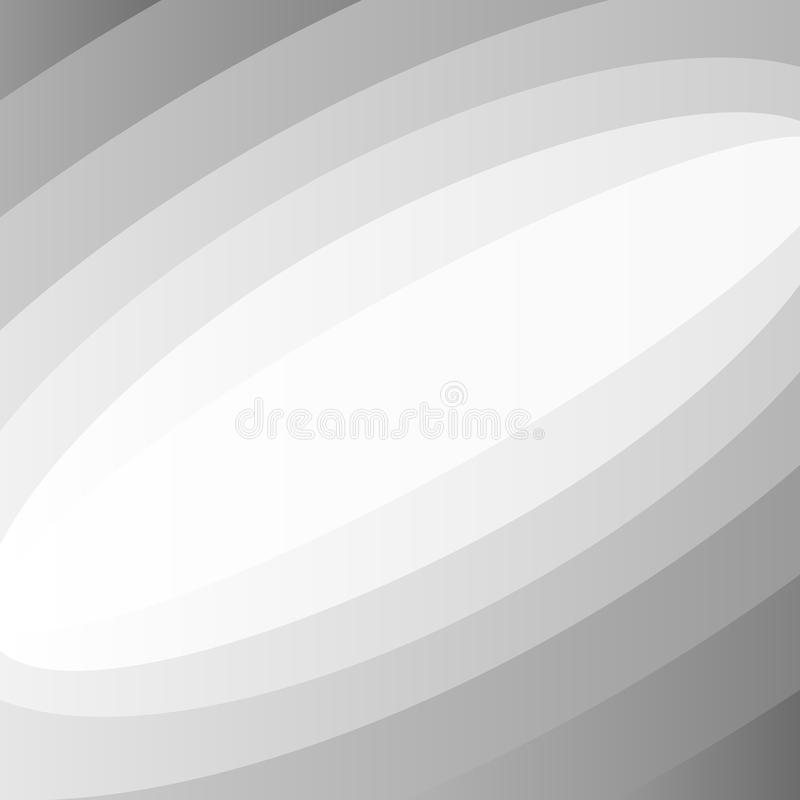 Fondo gris del extracto de la curva de la pendiente stock de ilustración