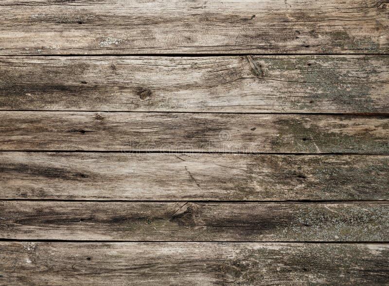 Fondo gris desigual de madera de la textura foto de archivo libre de regalías