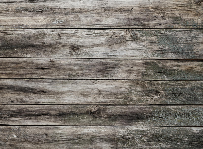 Fondo gris desigual de madera de la textura imágenes de archivo libres de regalías