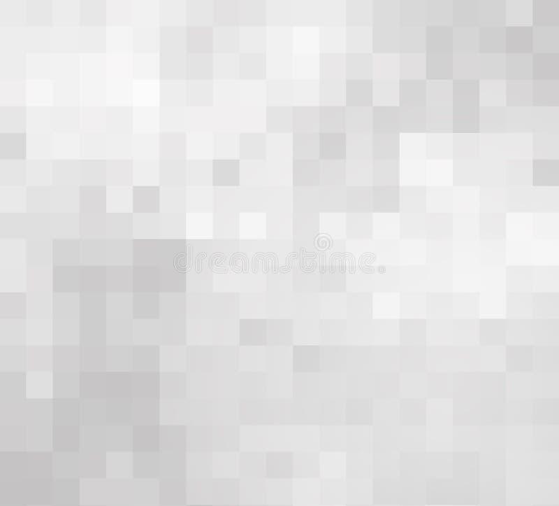 Fondo gris pálido del mosaico libre illustration