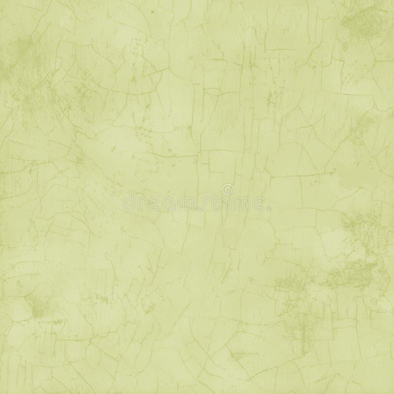 Fondo grungy verde chiaro del crepitare della pittura fotografia stock