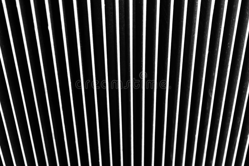Fondo hecho del metal Rayas verticales imagenes de archivo