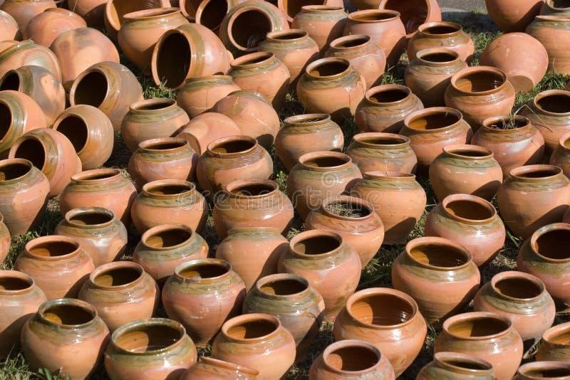 Fondo hecho a mano de la cerámica. imagenes de archivo