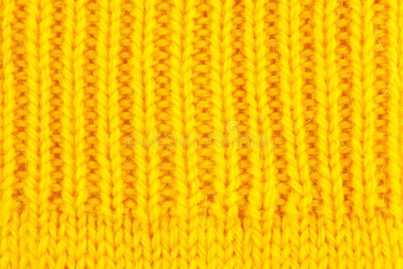 Fondo hecho punto lanas fotografía de archivo
