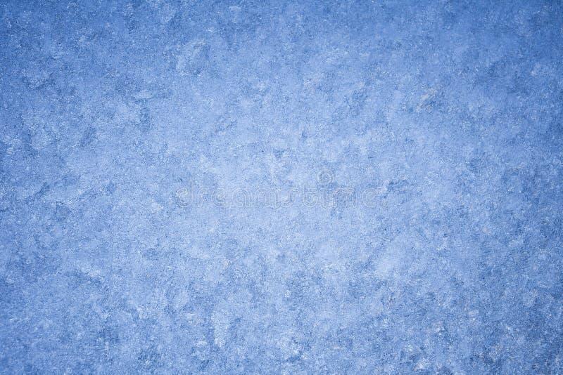 Fondo helado del invierno fotografía de archivo libre de regalías