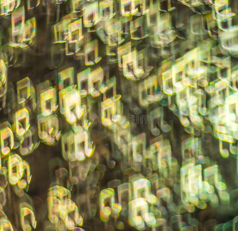 Fondo hermoso con diversa nota coloreada, backg abstracto imagen de archivo libre de regalías