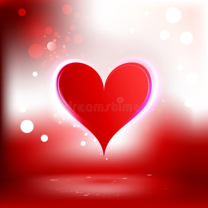 Fondo hermoso con el corazón libre illustration