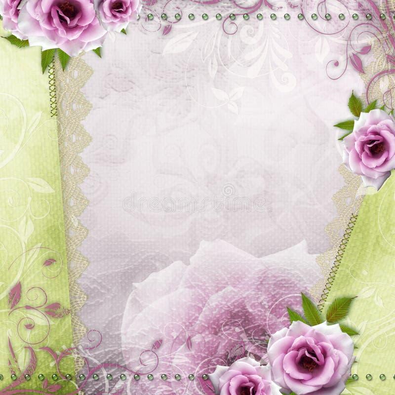 Fondo hermoso de la boda foto de archivo