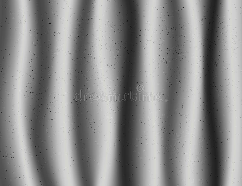 Fondo hermoso de la materia textil de Grey Drapery Silk stock de ilustración