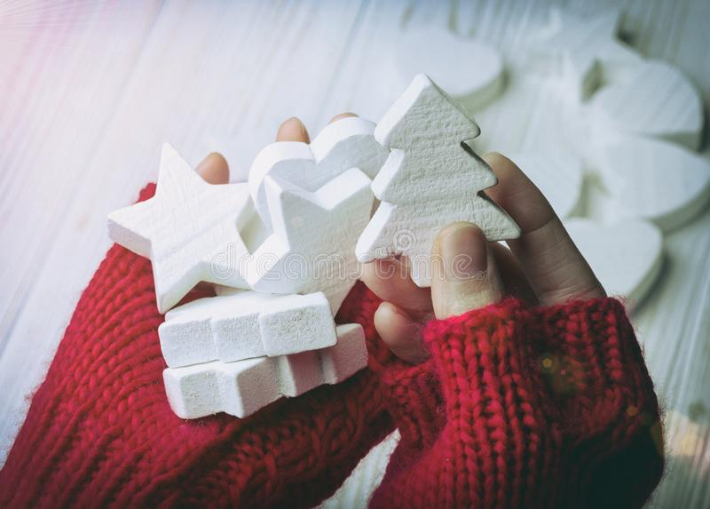 Fondo hermoso de la Navidad fotografía de archivo libre de regalías