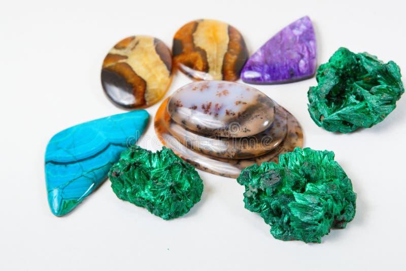 Fondo hermoso de las gemas foto de archivo