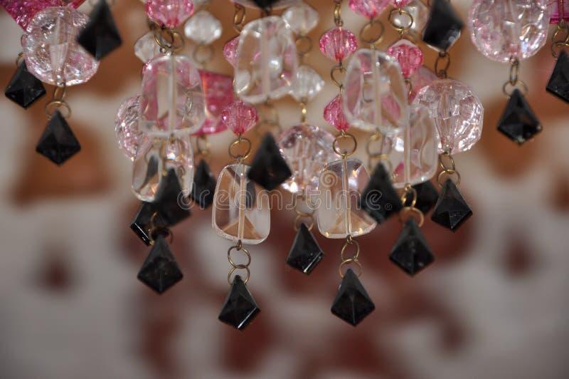 Fondo hermoso de los cristales de la lámpara fotos de archivo libres de regalías