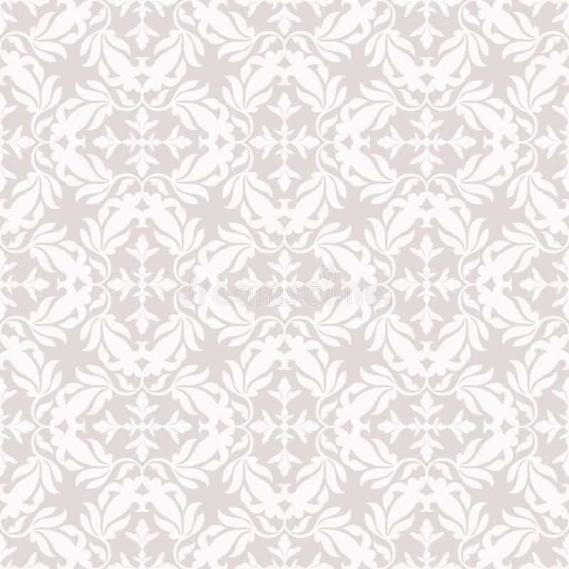 Fondo hermoso del damasco, ornamentación floral real, de lujo, ilustración del vector