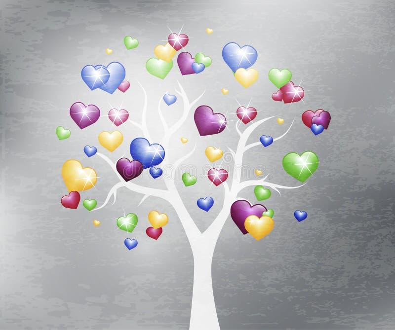 Fondo hermoso del diseño del árbol libre illustration