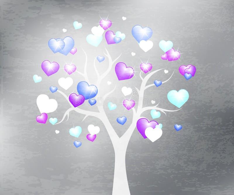 Fondo hermoso del diseño del árbol ilustración del vector