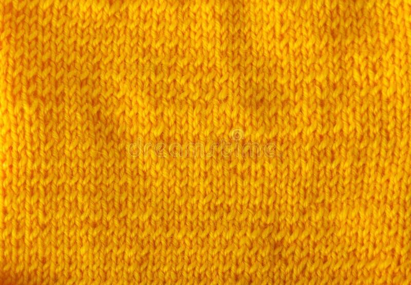 Fondo Hilado de lana del color anaranjado brillante imagenes de archivo