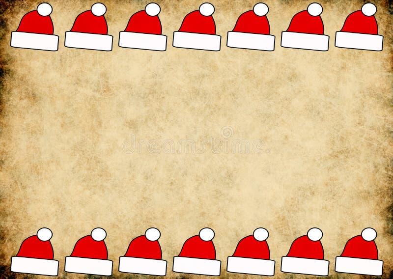 Fondo horizontal de Navidad ilustración del vector