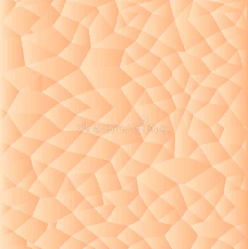 Fondo humano de la textura de la piel, ejemplo del modelo del vector libre illustration