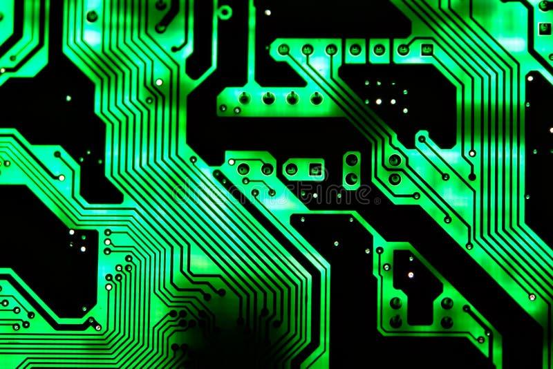 Fondo II de la tarjeta de circuitos fotografía de archivo libre de regalías