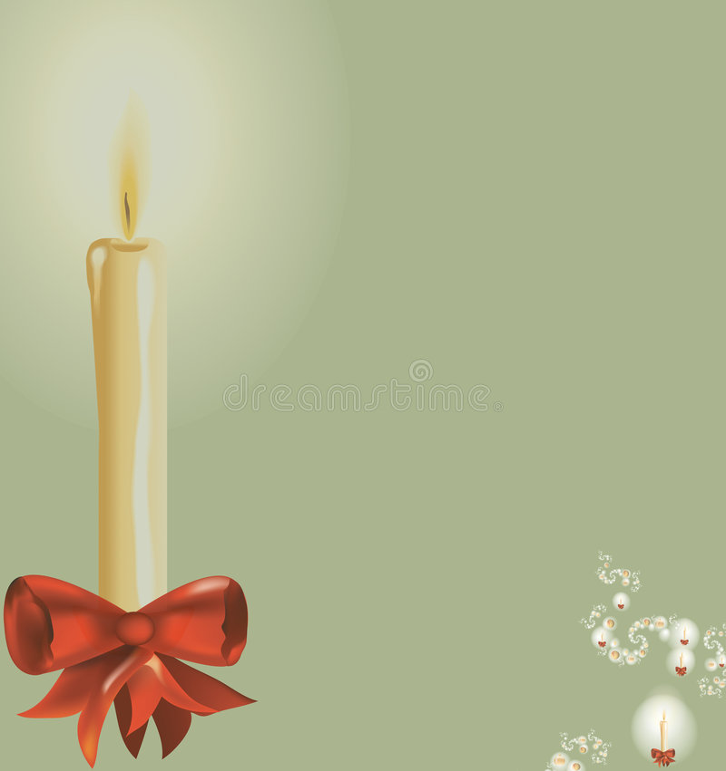 Fondo III de la Navidad stock de ilustración